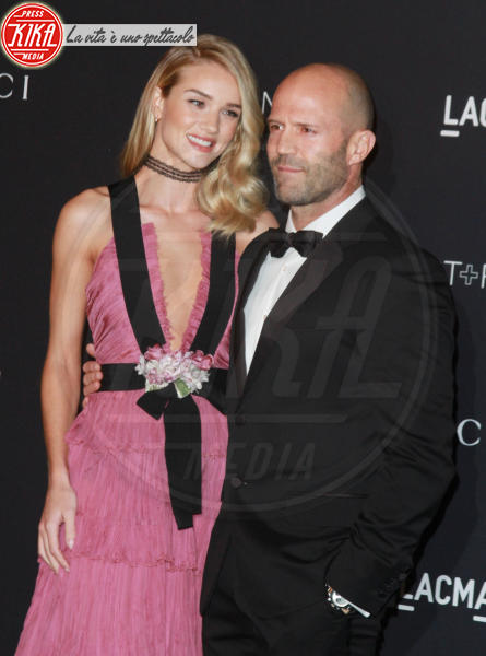 Rosie Huntington-Whiteley, Jason Statham - Los Angeles - 07-11-2015 -