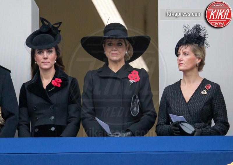 Regina Maxima d'Olanda, Sophie Rhys-Jones, Kate Middleton - Londra - 08-11-2015 - Kate Middleton e Lady Diana, lo stile è lo stesso