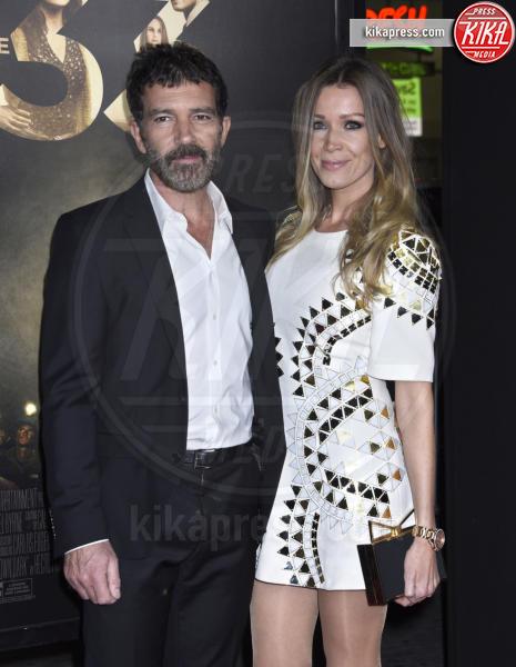 Nicole Kimpel, Antonio Banderas - Hollywood - 09-11-2015 - Antonio Banderas ricoverato d'urgenza: paura per l'attore
