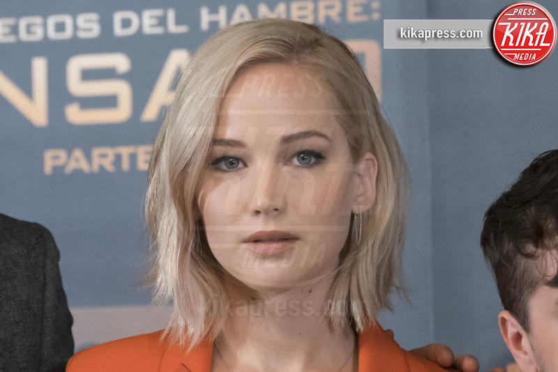 Jennifer Lawrence - Madrid - 10-11-2015 - Hunger Games: Jennifer Lawrence parla del prequel