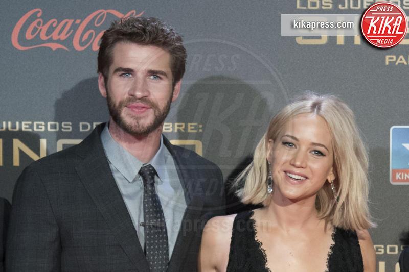 Liam Hemsworth, Jennifer Lawrence - Madrid - 10-11-2015 - Hunger Games: Jennifer Lawrence parla del prequel