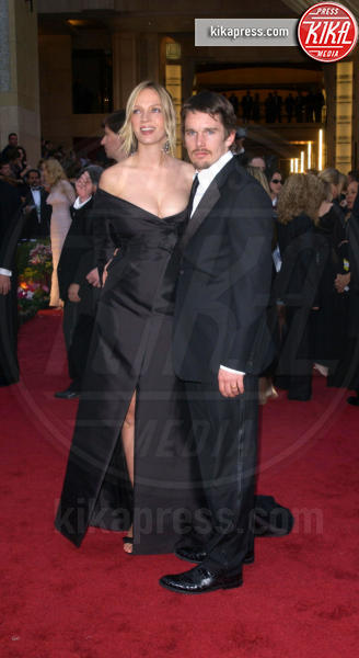 Uma Thurman, Ethan Hawke - Hollywood - 24-03-2002 - Mel B - Stephen Belafonte: anche per loro, galeotta fu la tata