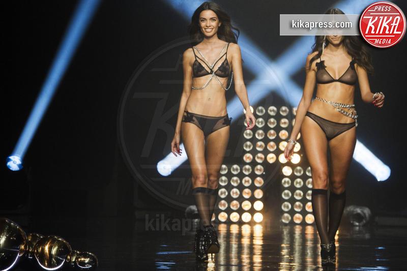 Joana Sanz, Linda Morselli - Madrid - 11-11-2015 - La serie A è ricominciata: wags avanti tutta!