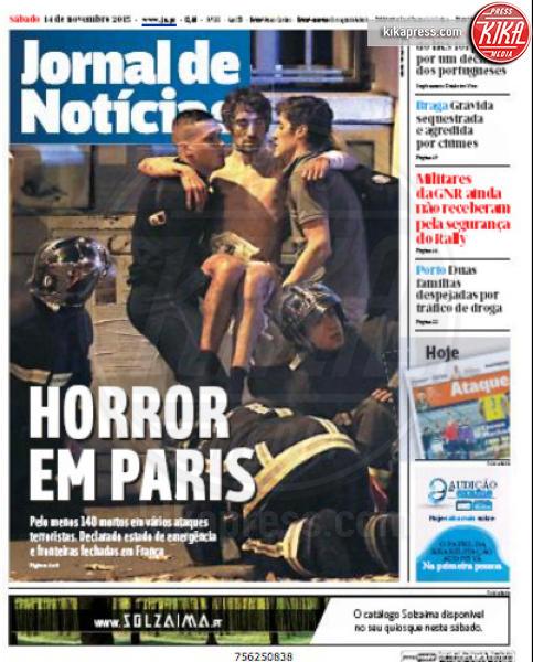 Jornal de Noticia - Parigi - 14-11-2015 - Carneficina a Parigi, le prime pagine di tutto il mondo