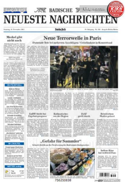 Badische - Parigi - 14-11-2015 - Carneficina a Parigi, le prime pagine di tutto il mondo