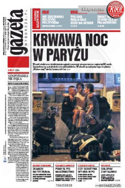Gazeta - Parigi - 14-11-2015 - Carneficina a Parigi, le prime pagine di tutto il mondo
