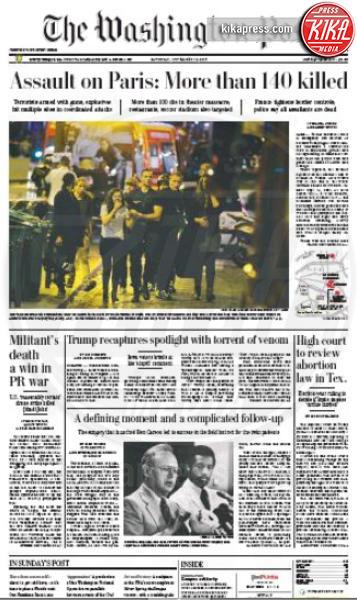 The Washington Post - Parigi - 14-11-2015 - Carneficina a Parigi, le prime pagine di tutto il mondo