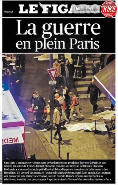 Le Figaro - Parigi - 14-11-2015 - Carneficina a Parigi, le prime pagine di tutto il mondo