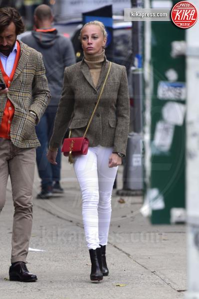 Valentina Baldini, Andrea Pirlo - New York - 13-11-2015 - Andrea Pirlo, e chi lo smuove da New York?
