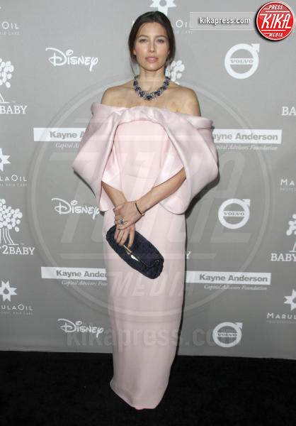 Jessica Biel - Los Angeles - 14-11-2015 - Le celebrity? Tutte romantiche belle in rosa!