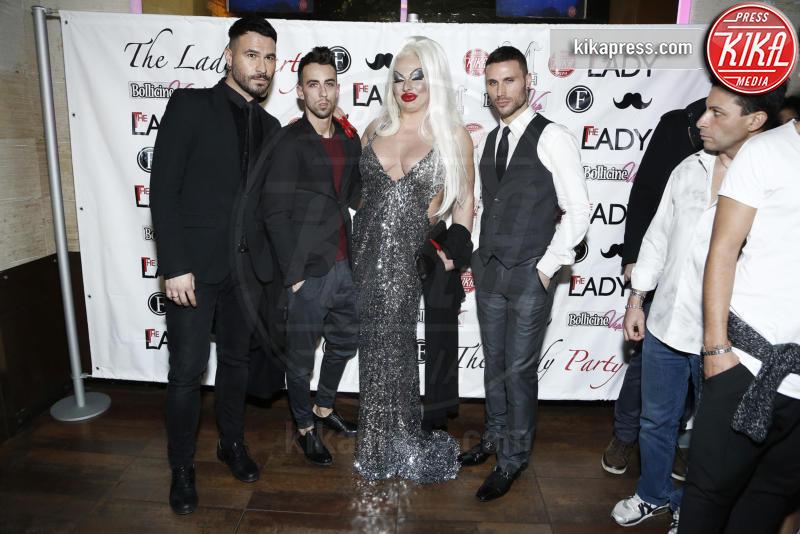Fabrizio curci, Angelo Mazzone, Marc Leisure, Elenoire Ferruzzi, Ospite - Milano - 16-11-2015 - The Lady 2,  Lory Del Santo festeggia il film all'Old Fashion