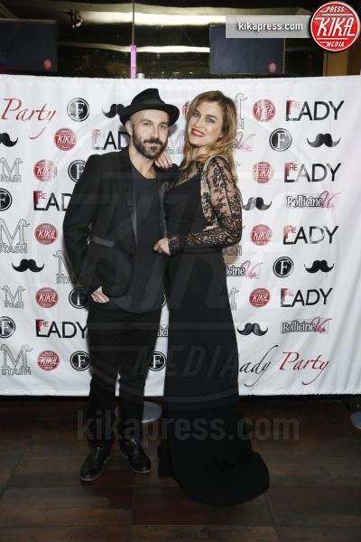 Maccio Capatonda, Lory Del Santo - Milano - 16-11-2015 - The Lady 2,  Lory Del Santo festeggia il film all'Old Fashion