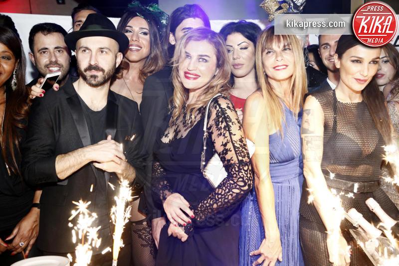 ines rodriguez, Marco Cuculo, Maccio Capatonda, Siria De Fazio, Lory Del Santo, Ospite - Milano - 16-11-2015 - The Lady 2,  Lory Del Santo festeggia il film all'Old Fashion