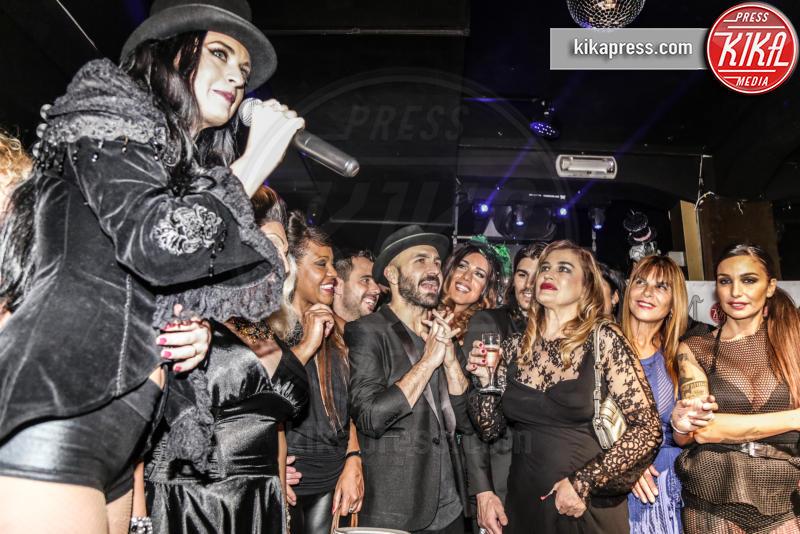 Kateryna Tarkova, ines rodriguez, Marco Cucolo, Maccio Capatonda, Siria De Fazio, Lory Del Santo, Ospite - 17-11-2015 - The Lady 2,  Lory Del Santo festeggia il film all'Old Fashion