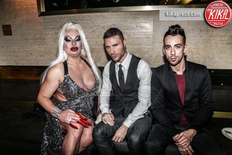 Fabrizio curci, Angelo Mazzone, Elenoire Ferruzzi, Ospite - 17-11-2015 - The Lady 2,  Lory Del Santo festeggia il film all'Old Fashion