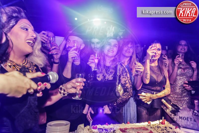 La Wanda Gastrica, ines rodriguez, Marco Cucolo, Maccio Capatonda, Siria De Fazio, Lory Del Santo, Ospite - 17-11-2015 - The Lady 2,  Lory Del Santo festeggia il film all'Old Fashion