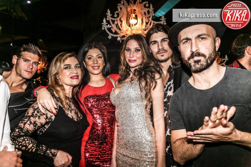 Marco Cucolo, Maccio Capatonda, Lory Del Santo, Ospite - 17-11-2015 - The Lady 2,  Lory Del Santo festeggia il film all'Old Fashion
