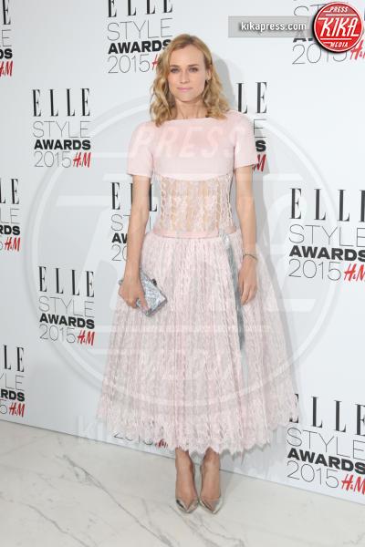 Diane Kruger - Londra - 24-02-2015 - Le celebrity? Tutte romantiche belle in rosa!