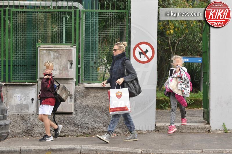 Christian Totti, Chanel Totti, Ilary Blasi - Roma - 18-11-2015 - Mamme in carriera: i figli sono la chiave del successo