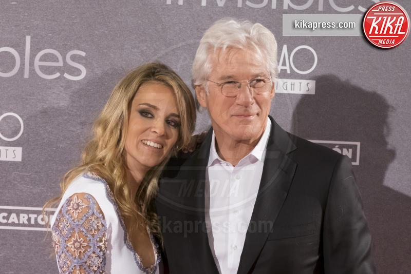 Alejandra Silva, Richard Gere - Madrid - 23-11-2015 - Richard Gere di nuovo padre a 69 anni! La moglie è incinta