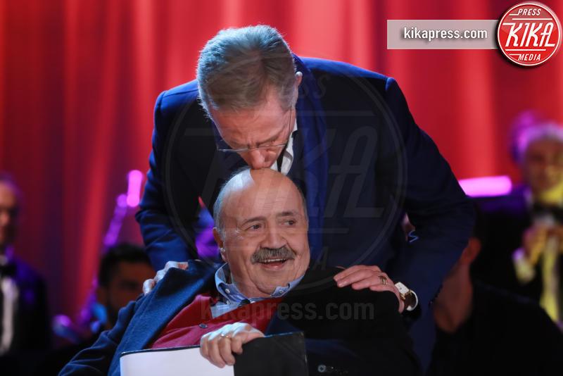 Maurizio Costanzo, Paolo Bonolis - Roma - 26-11-2015 - Buon compleanno Paolo Bonolis! 55 anni da showman