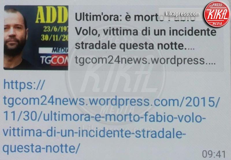 Fabio Volo - 30-11-2015 - Britney Spears è morta: il web si dispera, ma era una bufala