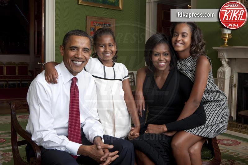 Sasha Obama, Malia Obama, Michelle Obama, Barack Obama - Washington - 01-09-2009 - Annie Leibovitz, una carriera da copertina