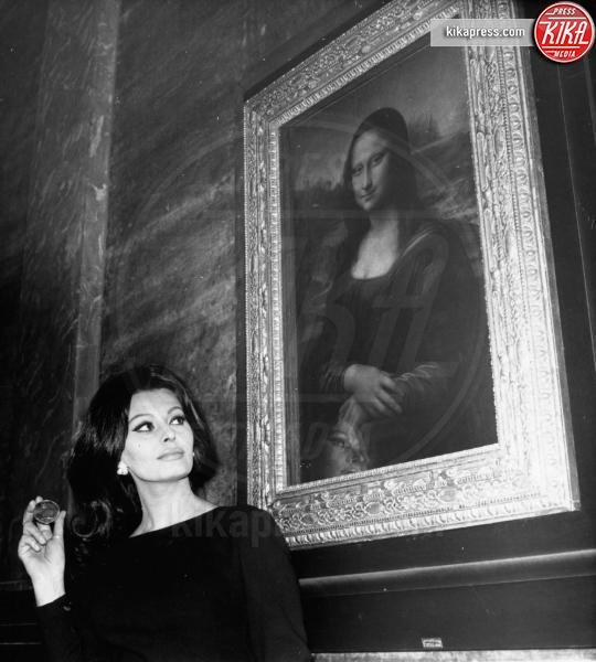La Gioconda, Sophia Loren - Parigi - 21-02-1964 - La Gioconda, la donna più misteriosa della storia