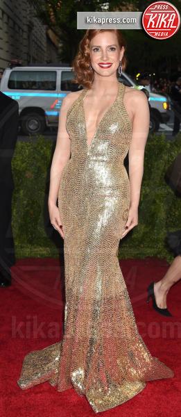 Jessica Chastain - New York - 04-05-2015 - Natale e Capodanno: a ciascuna la sua forma e... il suo abito!