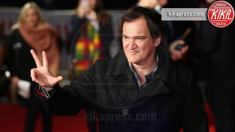 Quentin Tarantino - Londra - 10-12-2015 - C'era una volta a Hollywood, le locandine omaggiano l'Italia