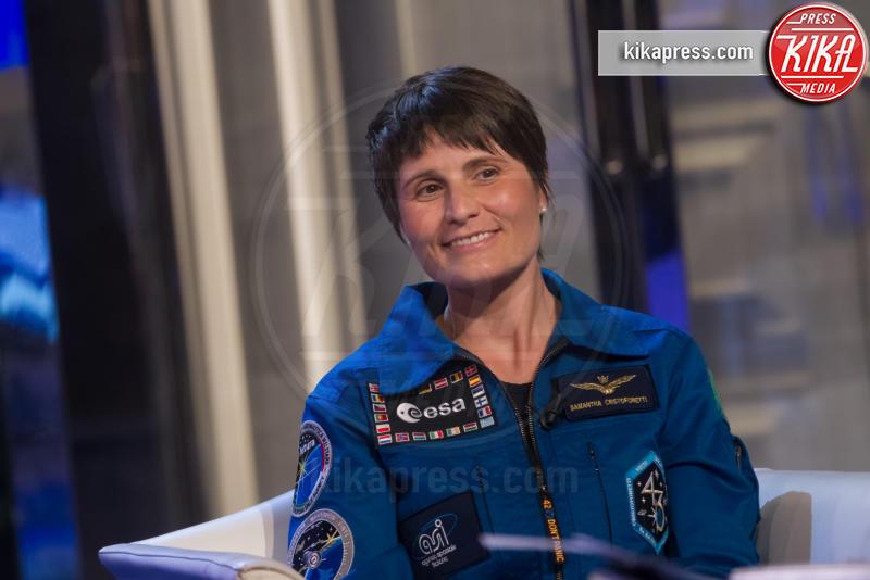 Samantha Cristoforetti - Roma - 10-12-2015 - La vita nello spazio di Samantha Cristoforetti diventa un film