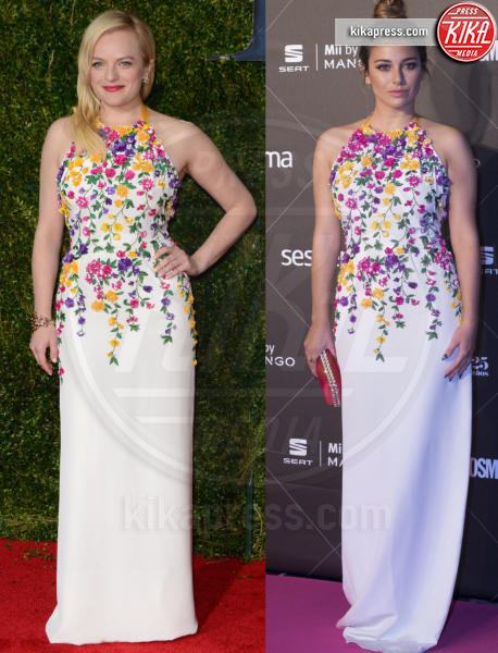 Blanca Suarez, Elisabeth Moss - 11-12-2015 - Chi lo indossa meglio: Elisabeth Moss o Blanca Suarez?