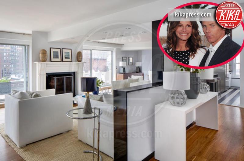 Appartamento Julia Roberts, Danny Moder, Julia Roberts - New York - 14-12-2015 - Julia Roberts, 5 milioni di dollari per il suo appartamento a NY