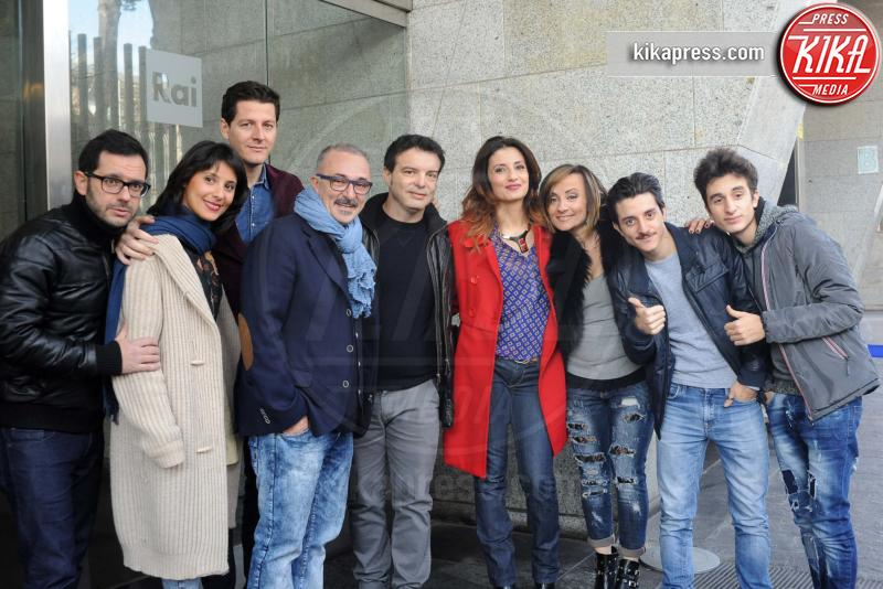 Cast Fatti Unici - Napoli - 14-12-2015 - Fatti Unici: su Rai2 la nuova sitcom napoletana
