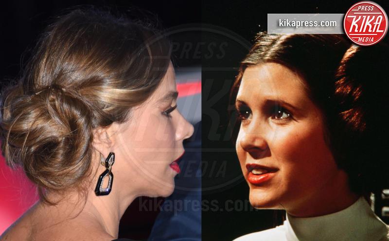 Carrie Fisher, Sofia Vergara - 15-12-2015 - Star Wars: Il risveglio del... raccolto!
