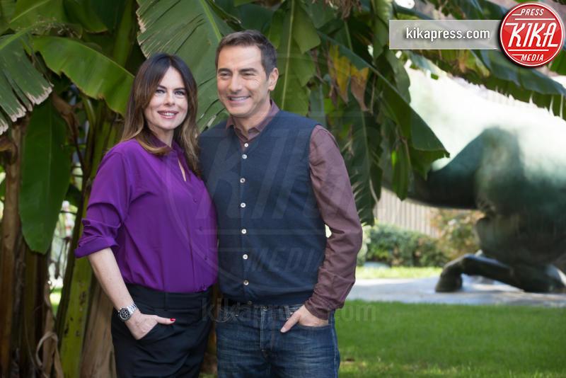 Paola Perego, Marco Liorni - Roma - 15-12-2015 - Paola Perego e Marco Liorni presentano Il Dono