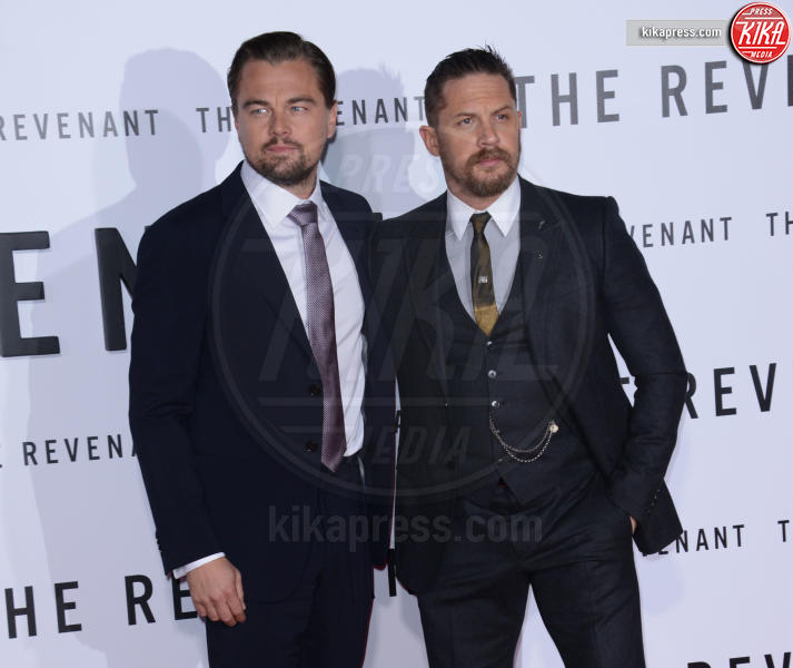 Tom Hardy, Leonardo DiCaprio - Hollywood - 17-12-2015 - Tom Hardy ha un tattoo dedicato a Leonardo DiCaprio