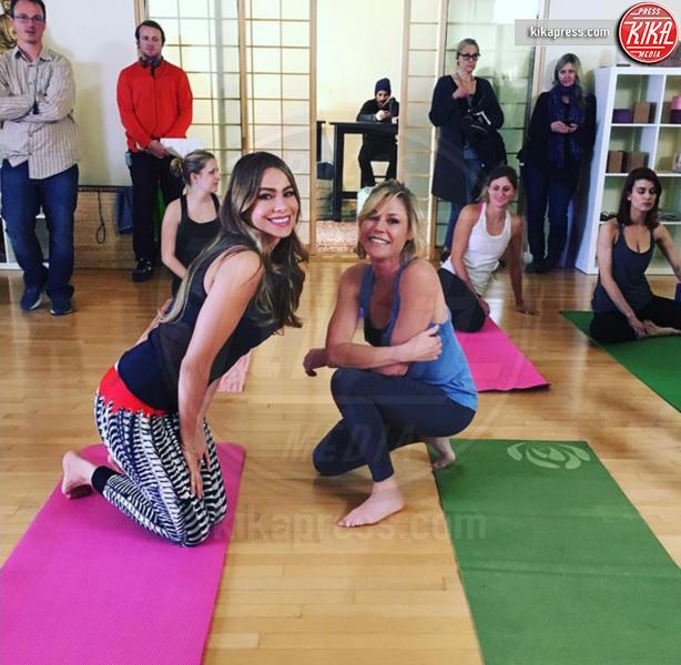 Sofia Vergara - Los Angeles - 19-12-2015 - Star come noi: l'allenamento s'intensifica