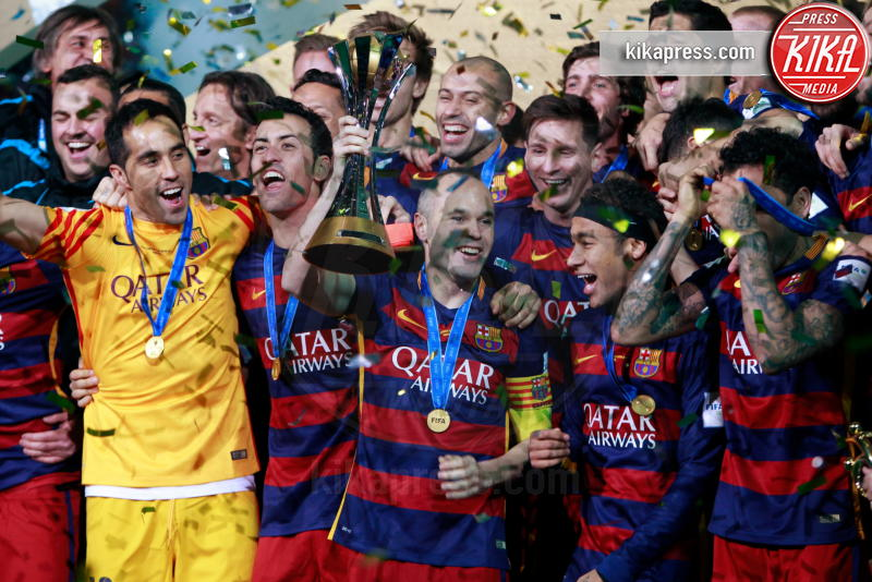 Neymar, Dani Alves - Yokohama - 20-12-2015 - Pogba-Messi, che coppia! La foto è già virale