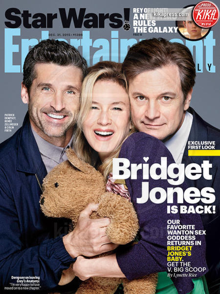 Bridget Jones, Colin Firth, Patrick Dempsey, Renee Zellweger - Siete pronte? Patrick Dempsey torna in tv
