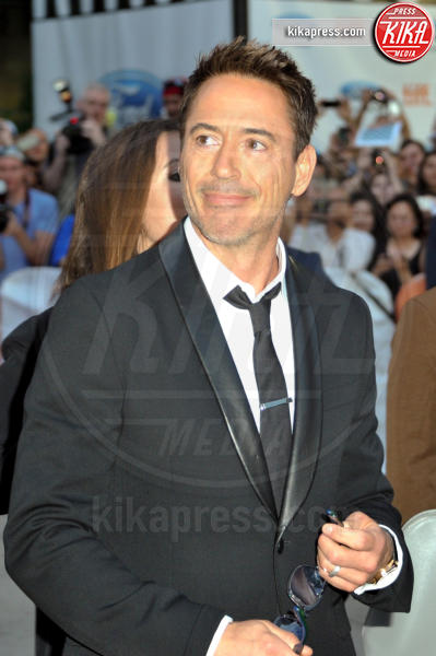 Robert Downey Jr - Londra - 05-09-2014 - Robert Downey Jr. lavora a una serie tv su Perry Mason