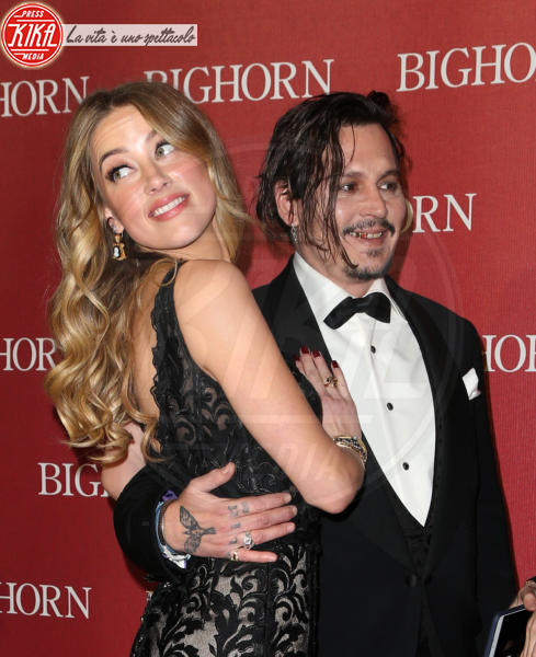 Amber Heard, Johnny Depp - Palm Springs - 02-01-2016 - Susan Sarandon: Il mio orientamento sessuale? È a disposizione!