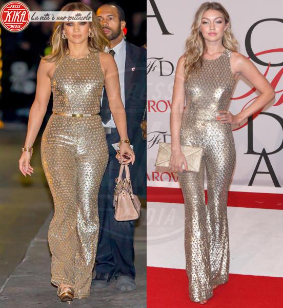 Gigi Hadid, Jennifer Lopez - 07-01-2016 - Chi lo indossa meglio? Look brillanti per le feste