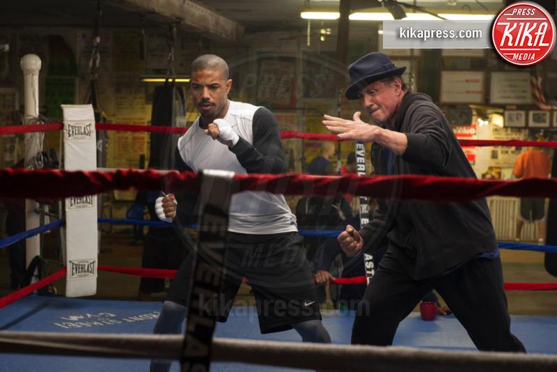 Creed, Michael B. Jordan, Sylvester Stallone - Los Angeles - 07-01-2016 - Creed 2, torna Rocky Balboa con uno scontro sensazionale