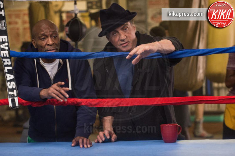 Creed, Sylvester Stallone - Los Angeles - 07-01-2016 - Sylvester Stallone, quanta eleganza sul set di Creed 2