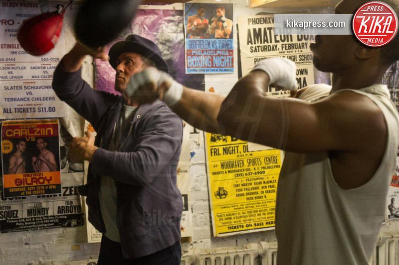 Michael B. Jordan, Sylvester Stallone - Los Angeles - 07-01-2016 - Creed 2, torna Rocky Balboa con uno scontro sensazionale