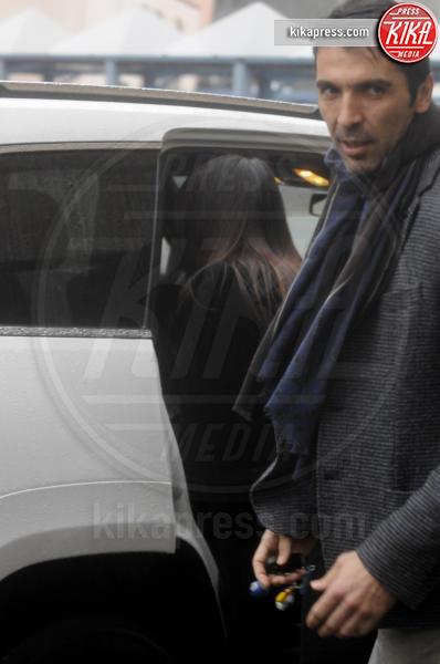 Ilaria d'Amico, Gianluigi Buffon - Torino - 09-01-2016 - Gigi Buffon-Ilaria D'Amico: ecco le prime foto da neogenitori