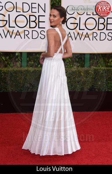 Alicia Vikander - Beverly Hills - 10-01-2016 - Golden Globe 2016: gli stilisti sul red carpet