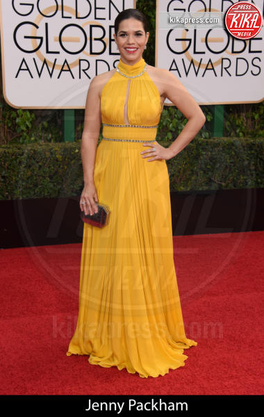 America Ferrera - Beverly Hills - 10-01-2016 - Golden Globe 2016: gli stilisti sul red carpet