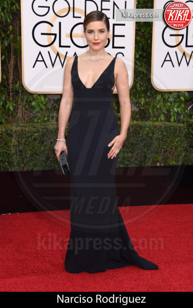 Sophia Bush - Beverly Hills - 10-01-2016 - Golden Globe 2016: gli stilisti sul red carpet